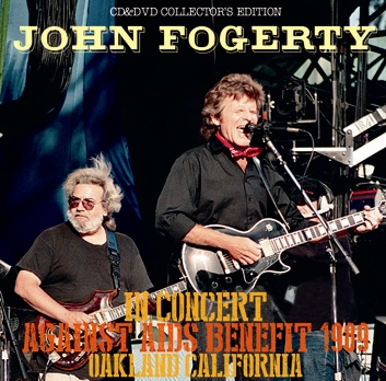 JOHN FOGERTY - IN CONCERT AGAINST AIDS BENEFIT 1989
