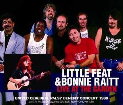 LITTLE FEAT & BONNIE RAITT - LIVE AT THE GARDEN (3CDR)