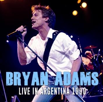 BRYAN ADAMS - LIVE IN ARGENTINA 1990 (1CDR)