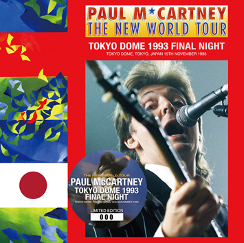 PAUL McCARTNEY - TOKYO DOME 1993 FINAL NIGHT (2CD)