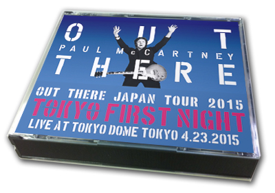 PAUL McCARTNEY - OUT THERE JAPAN TOUR 2015 : TOKYO FIRST NIGHT