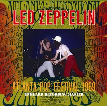 LED ZEPPELIN - ATLANTA POP FESTIVAL 1969: UNHEARD RECORDING MASTER (1CDR)