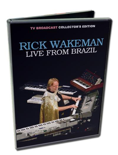 RICK WAKEMAN - LIVE FROM BRAZIL