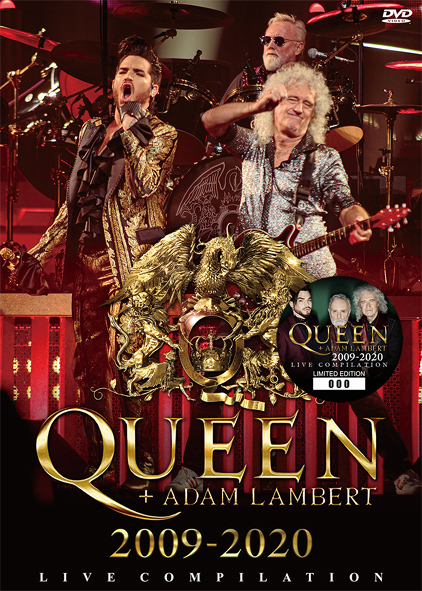 QUEEN + ADAM LAMBERT - 2009-2020: LIVE COMPILATION (1DVD)
