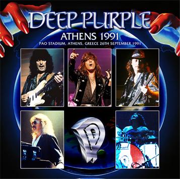 DEEP PURPLE - ATHENS 1991(2CDR)