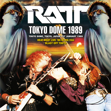 RATT - TOKYO DOME 1989 (1CDR)
