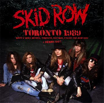 SKID ROW - TORONTO 1989 (1CDR)