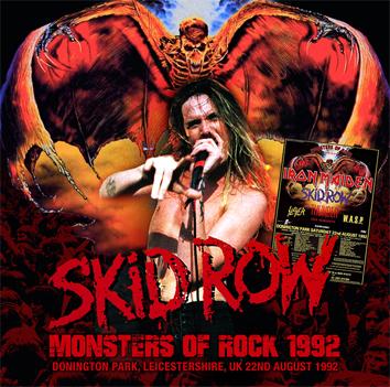 SKID ROW - MONSTERS OF ROCK 1992 (1CDR)