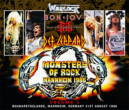 VARIOUS ARTISTS - MONSTERS OF ROCK MANNHEIM 1986 VOL.1