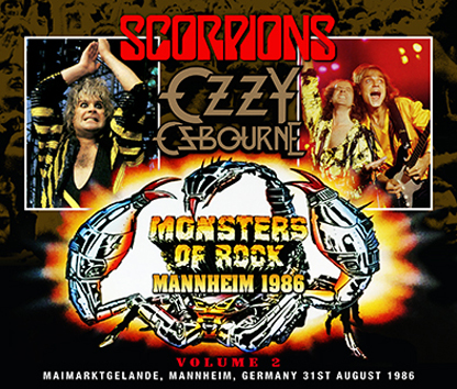 VARIOUS ARTISTS - MONSTERS OF ROCK MANNHEIM 1986 VOL.2