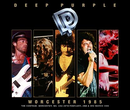 DEEP PURPLE - WORCESTER 1985