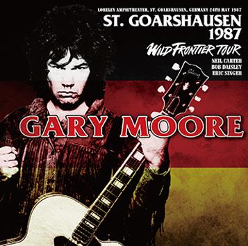 GARY MOORE - ST.GOARSHAUSEN 1987
