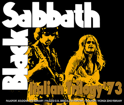 BLACK SABBATH - ITALIAN TRILOGY '73