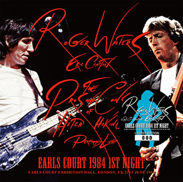 ROGER WATERS with ERIC CLAPTON -  EARLS COURT 1984 1ST NIGHT (2CD)