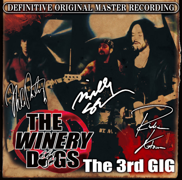 THE WINERY DOGS - THE 3RD GIG -Japan Tour 2013-