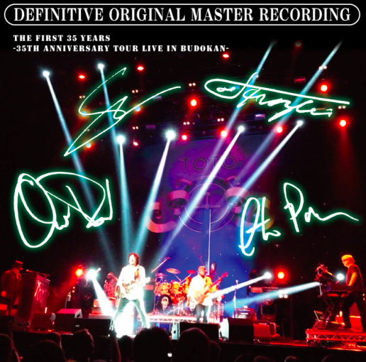 TOTO - THE FIRST 35 YEARS   -35th Anniversary Tour Live In Budokan-