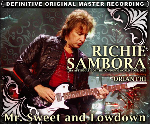 RICHIE SAMBORA - MR.SWEET AND LOWDOWN