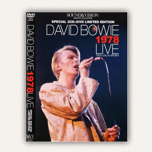 DAVID BOWIE - 1978 LIVE: TOKYO-DALLAS-BREMEN