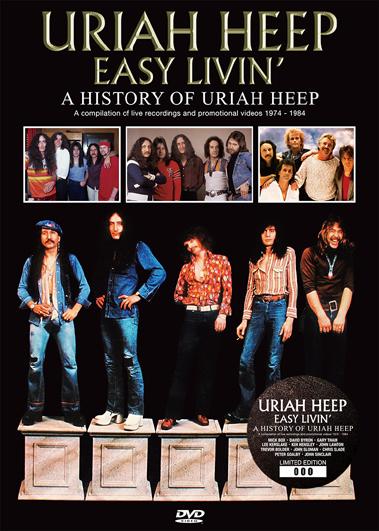 URIAH HEEP - EASY LIVIN': A HISTORY OF URIAH HEEP (1DVD)