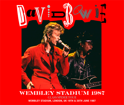 DAVID BOWIE - WEMBLEY STADIUM 1987 (4CDR)