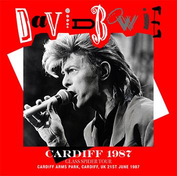 DAVID BOWIE - CARDIFF 1987 (2CDR)