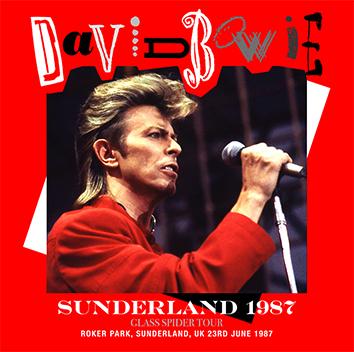 DAVID BOWIE - SUNDERLAND 1987 (2CDR)