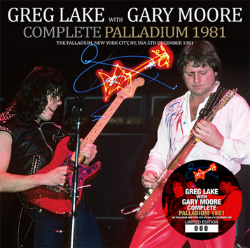 GREG LAKE with GARY MOORE - COMPLETE PALLADIUM 1981 (1CD)