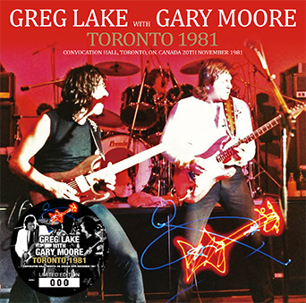 GREG LAKE with GARY MOORE - TORONTO 1981