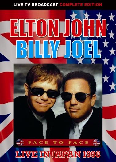ELTON JOHN & BILLY JOEL - FACE TO FACE LIVE IN JAPAN 1998 (1DVDR)