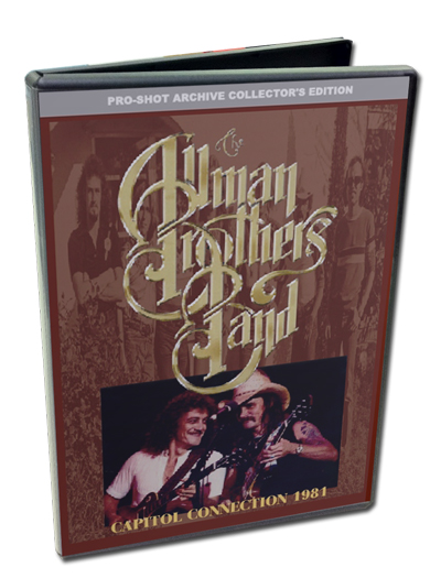 THE ALLMAN BROTHERS BAND - CAPITOL CONNECTION 1981