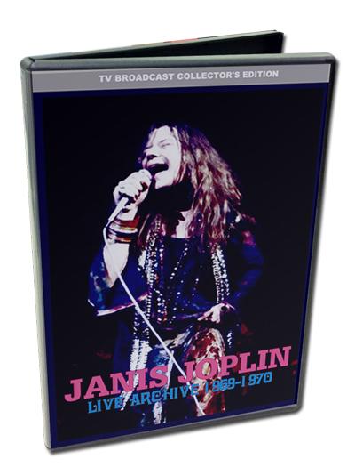 JANIS JOPLIN - LIVE ARCHIVES 1969-1970