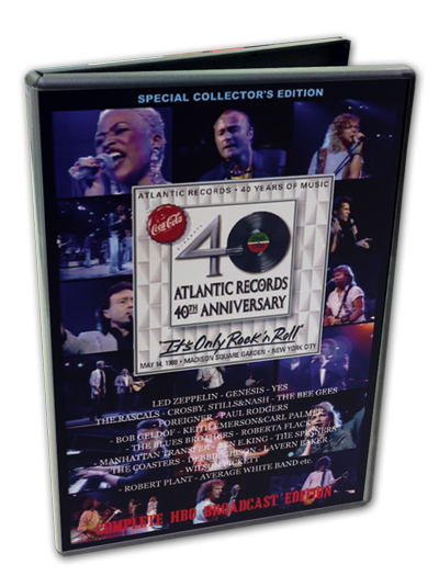 VARIOUS ARTISTS - ATLANTIC RECORDS 40TH ANNIVERSARY