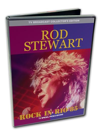 ROD STEWART - ROCK IN RIO 1985