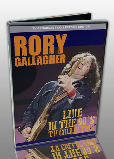 RORY GALLAGHER - LIVE IN THE 90S : TV COLLECITON