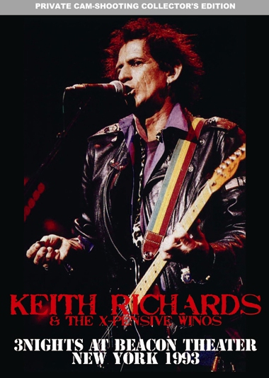 KEITH RICHARDS - 3 NIGHTS AT BEACON THEATER
