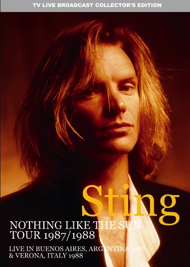 STING - ...NOTHING LIKE THE SUN TOUR 1987 / 1988