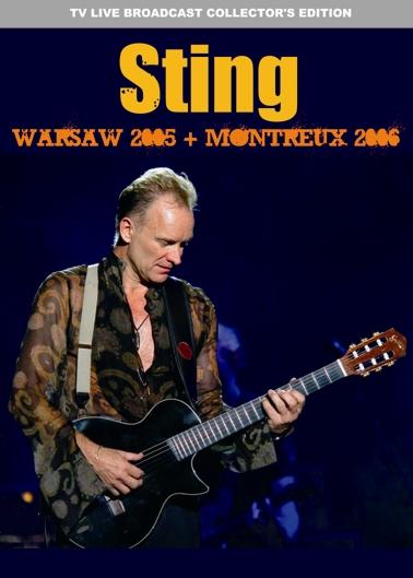 STING - WARSAW 2005 + MONTREUX 2006(2DVDR)