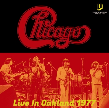 CHICAGO - LIVE IN OAKLAND 1977 (1CDR)