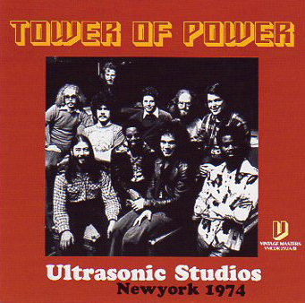TOWER OF POWER - ULTRASONIC STUDIO 1974