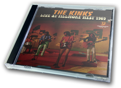 KINKS - LIVE AT THE FILLMORE WEST 1969