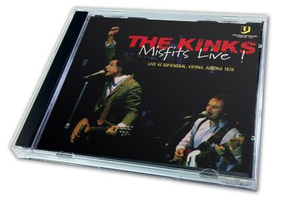 KINKS - MISFITS LIVE!