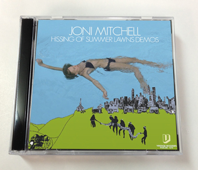 JONI MITCHELL - HISSING SUMMER LAWNS DEMO