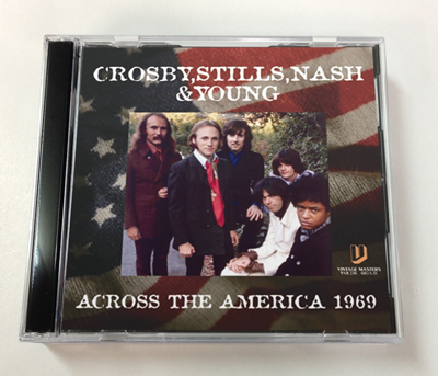 CROSBY, STILLS, NASH & YOUNG - ACROSS THE AMERICA 1969