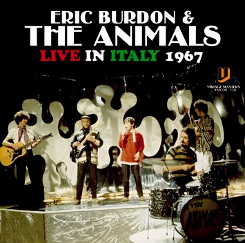 ERIC BURDON & THE ANIMALS - LIVE IN ITALY 1967 (1CDR)