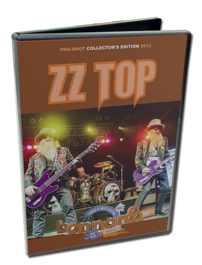 ZZ TOP - BONNAROO FESTIVAL 2013