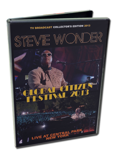 STEVIE WONDER - GLOBAL CITIZEN FESTIVAL 2013