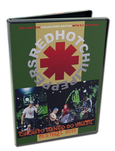 RED HOT CHILI PEPPERS - CIRCUITO BANCO DO BRAZIL FESTIVAL  2013