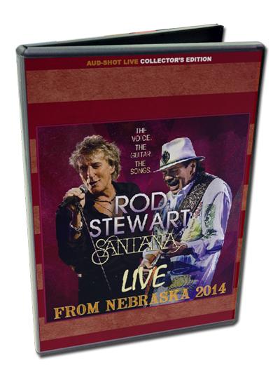 ROD STEWART + SANTANA - LIVE FROM NEBRASKA 2014
