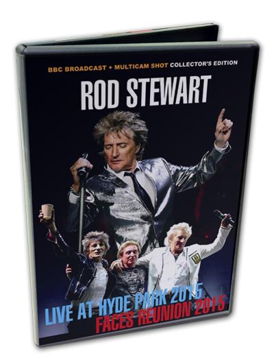 ROD STEWART - LIVE AT HYDE PARK 2015 + FACES REUNION