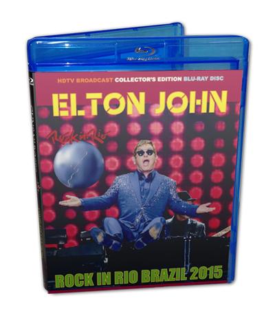 ELTON JOHN - ROCK IN RIO BRAZIL 2015